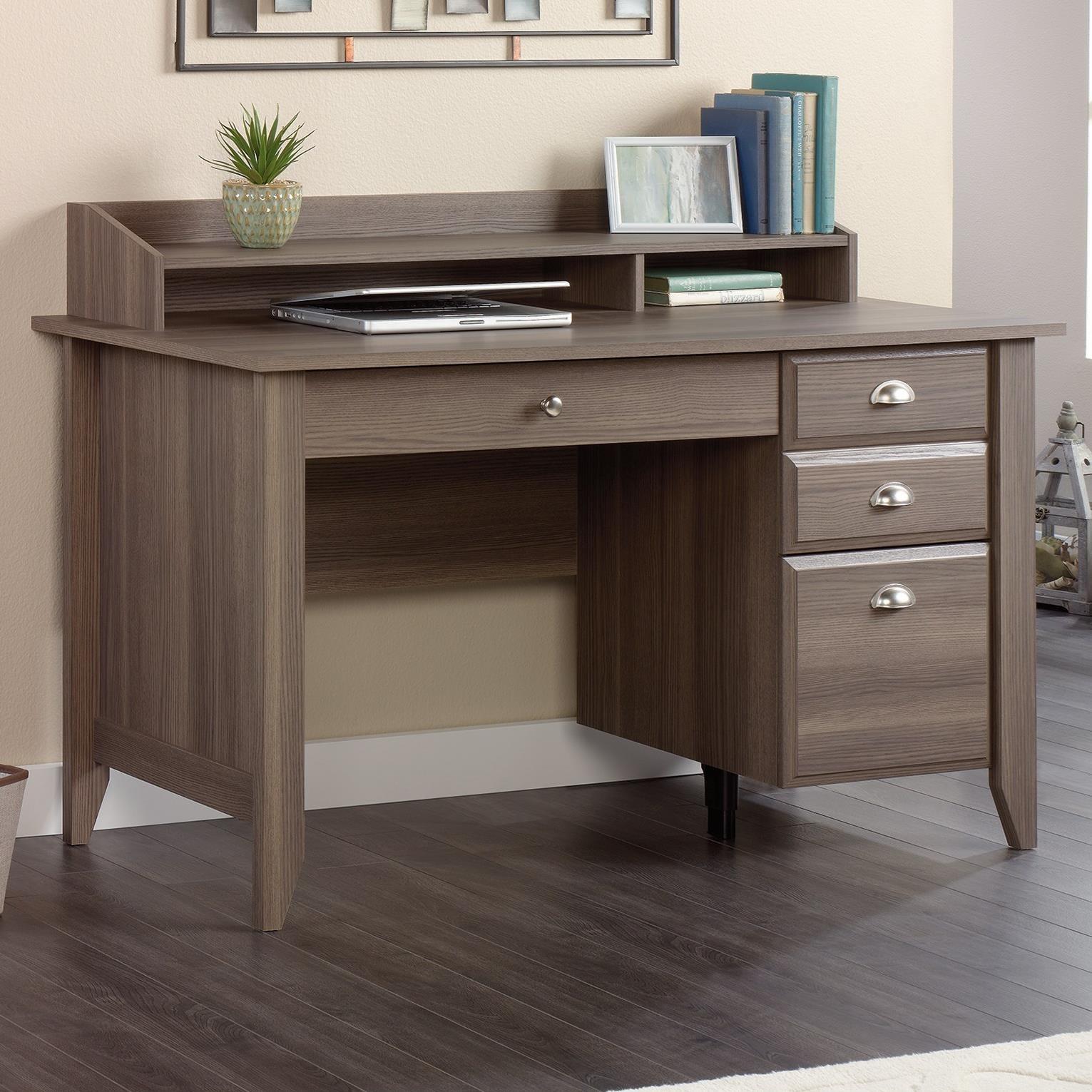 Sauder Shoal Creek 418657 Desk with Keyboard Drawer