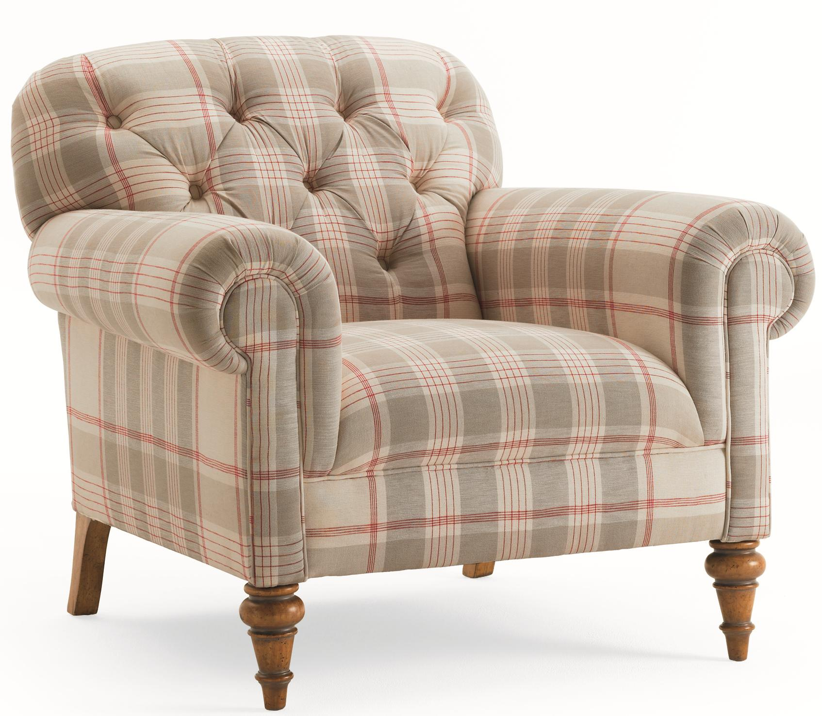 oversized upholstered chair costco recliner schnadig lynn button tufted with rolled armrests