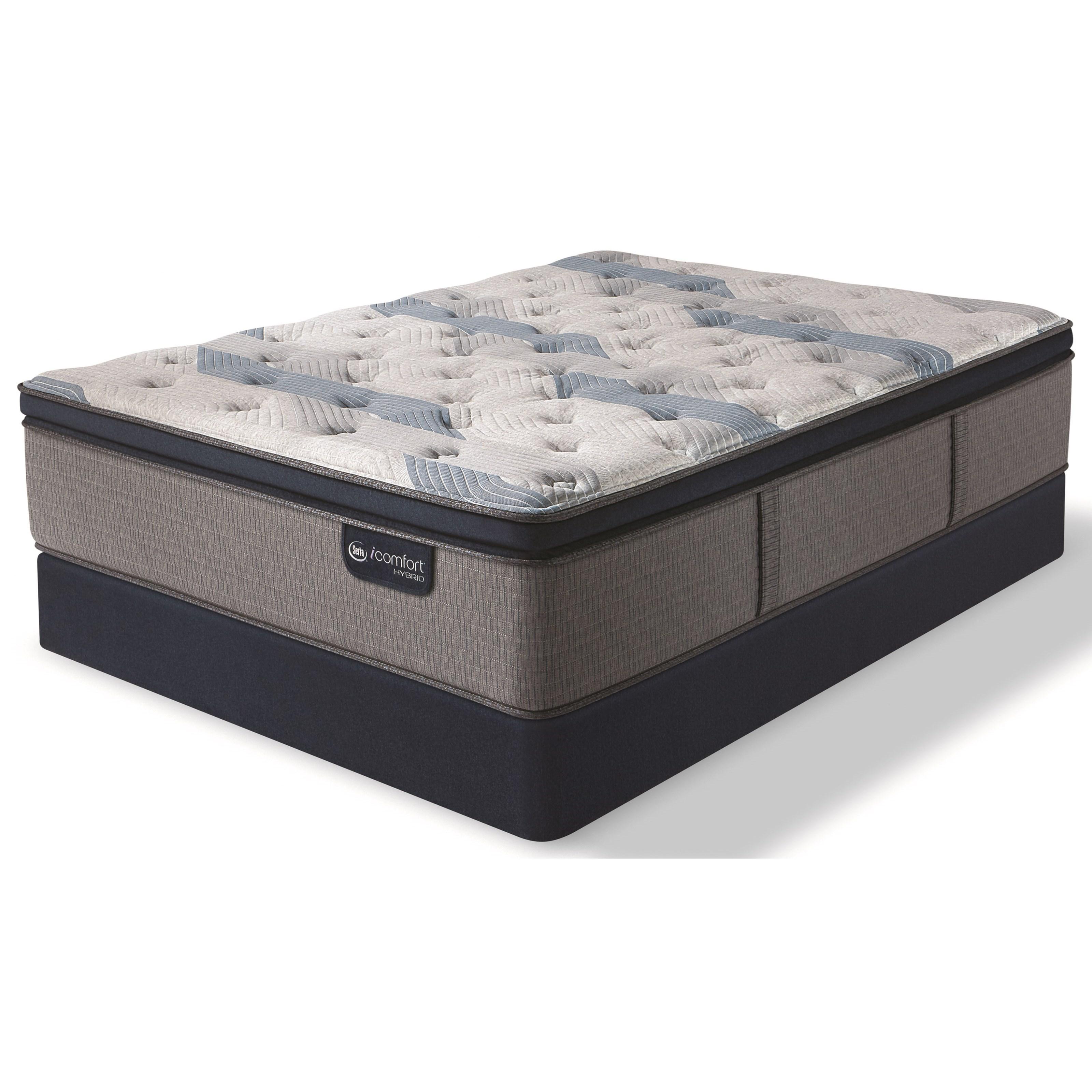 Serta iComfort Blue Fusion 300 Queen Plush Pillow Top