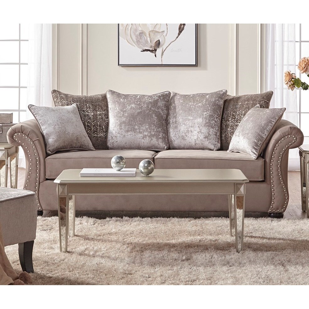 Serta Upholstery By Hughes Furniture 7500 Traditional
