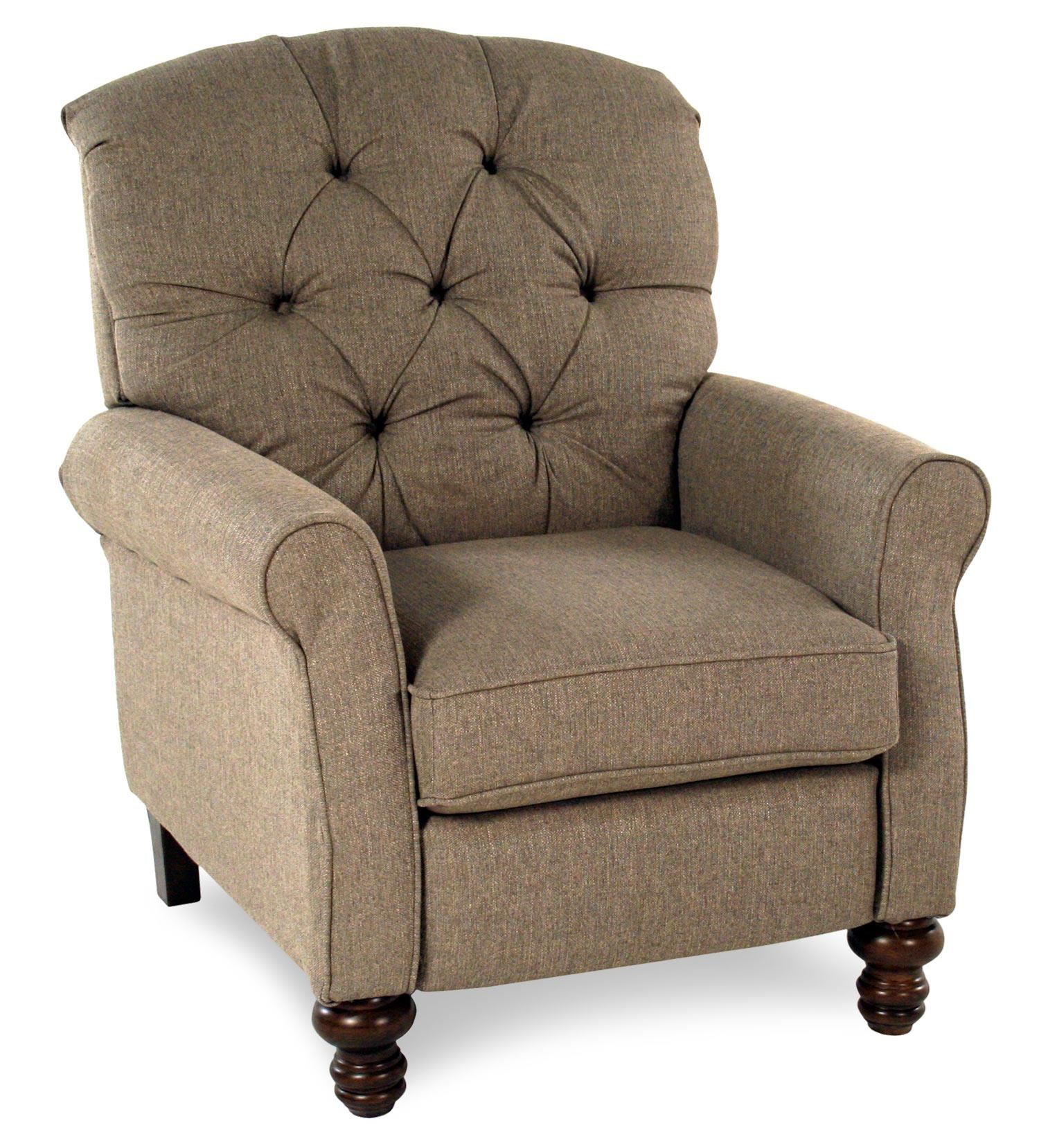 Serta Upholstery Pemberly Traditional High Leg Recliner