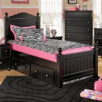 Signature Design by Ashley Jaidyn Twin Poster Bed with ...
