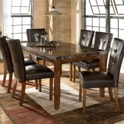 Dining Table And Chair Sets Holiday Back Covers Pattern Ashley Signature Design Lacey 7 Piece Set