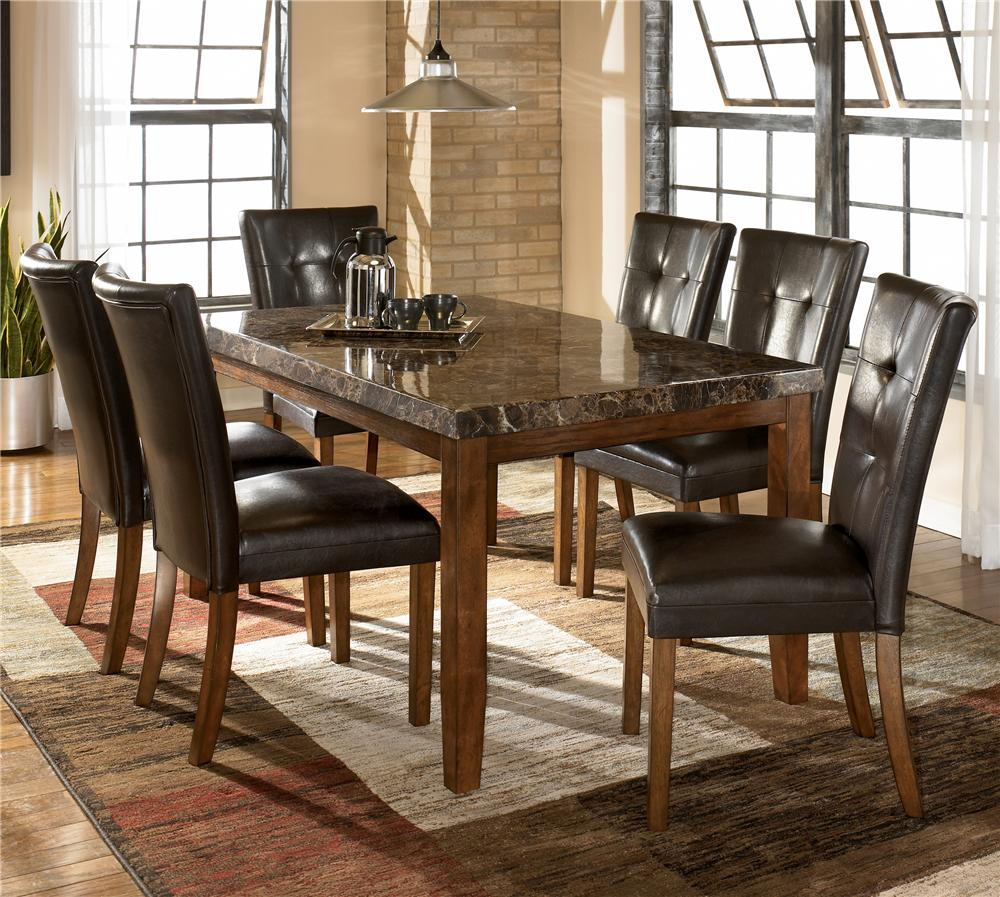 Dining Room Chair Sets Lacey 7 Piece Dining Table Chair Set By Ashley Signature Design At Dunk Bright Furniture