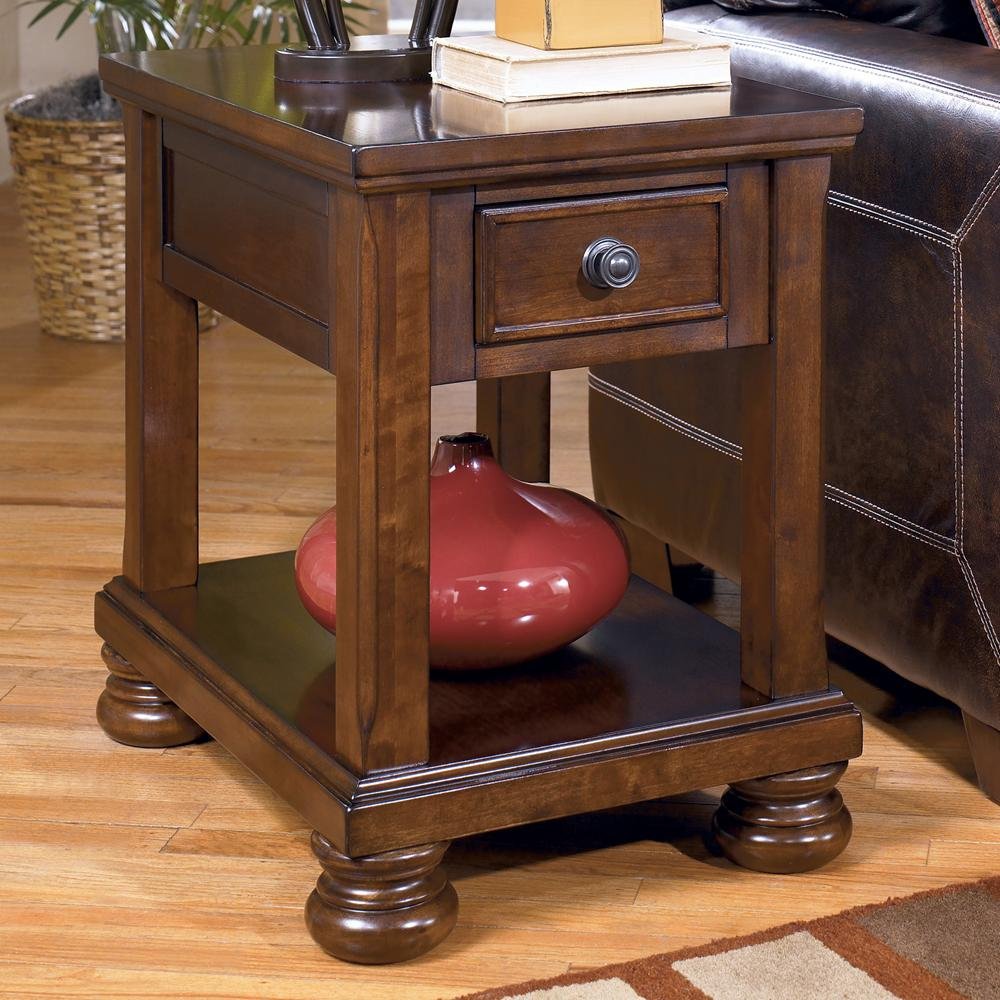 Ashley Signature Design Porter T6973 Chairside End Table