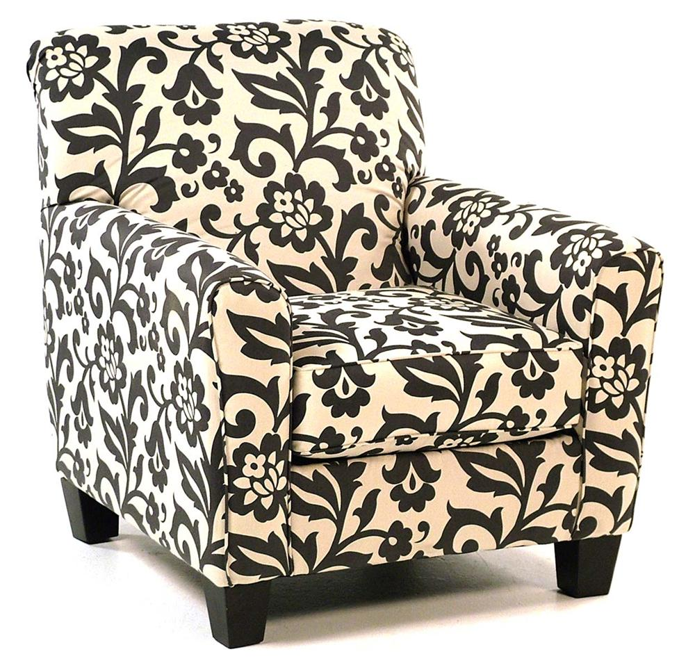 floral upholstered chair traditional dining chairs central park accent in print rotmans