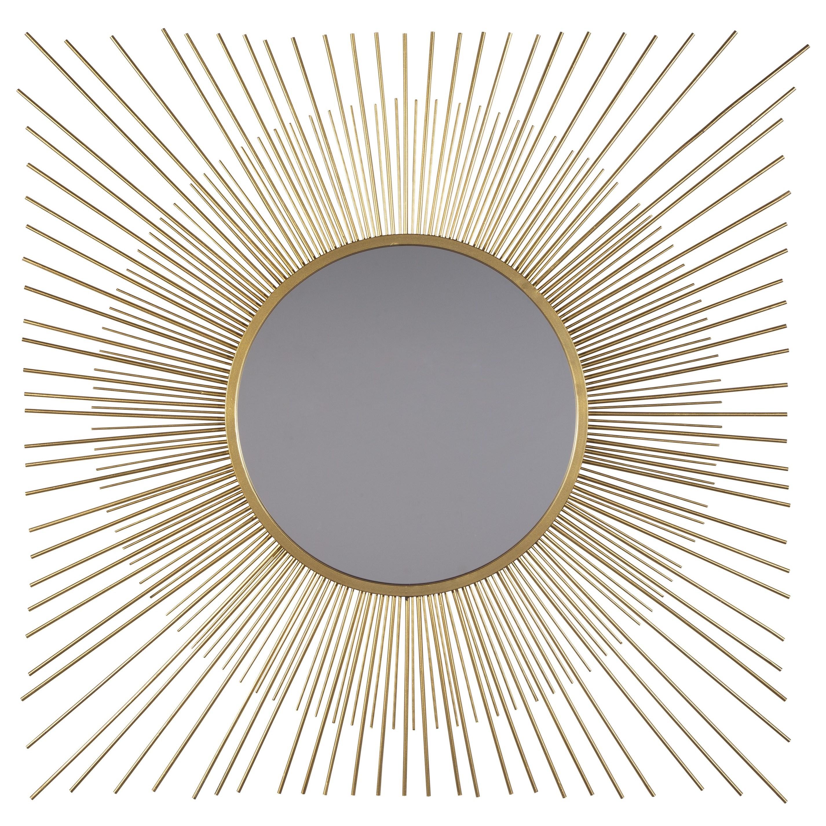 Ashley Signature Design Accent Mirrors Elspeth Gold