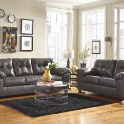 Durablend Sofa Cane Set Online India Signature Design By Ashley Alliston Durablend® - Gray ...