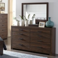 Signature Design by Ashley Arkaline Modern Rustic Dresser ...