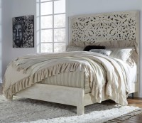 Signature Design by Ashley Bantori King Panel Bed ...