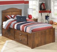 Signature Design by Ashley Barchan Twin Panel Bed with ...
