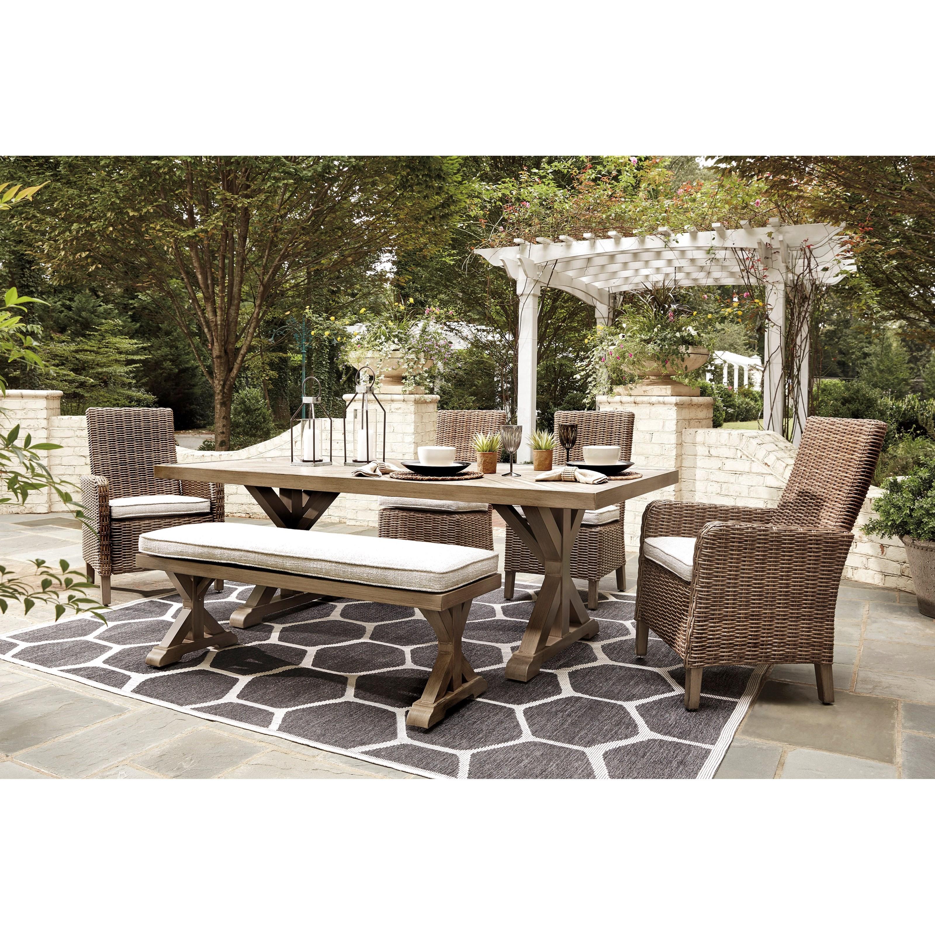 beachcroft 6 piece outdoor dining set