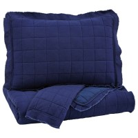 Ashley (Signature Design) Bedding Sets Queen Amare Navy ...