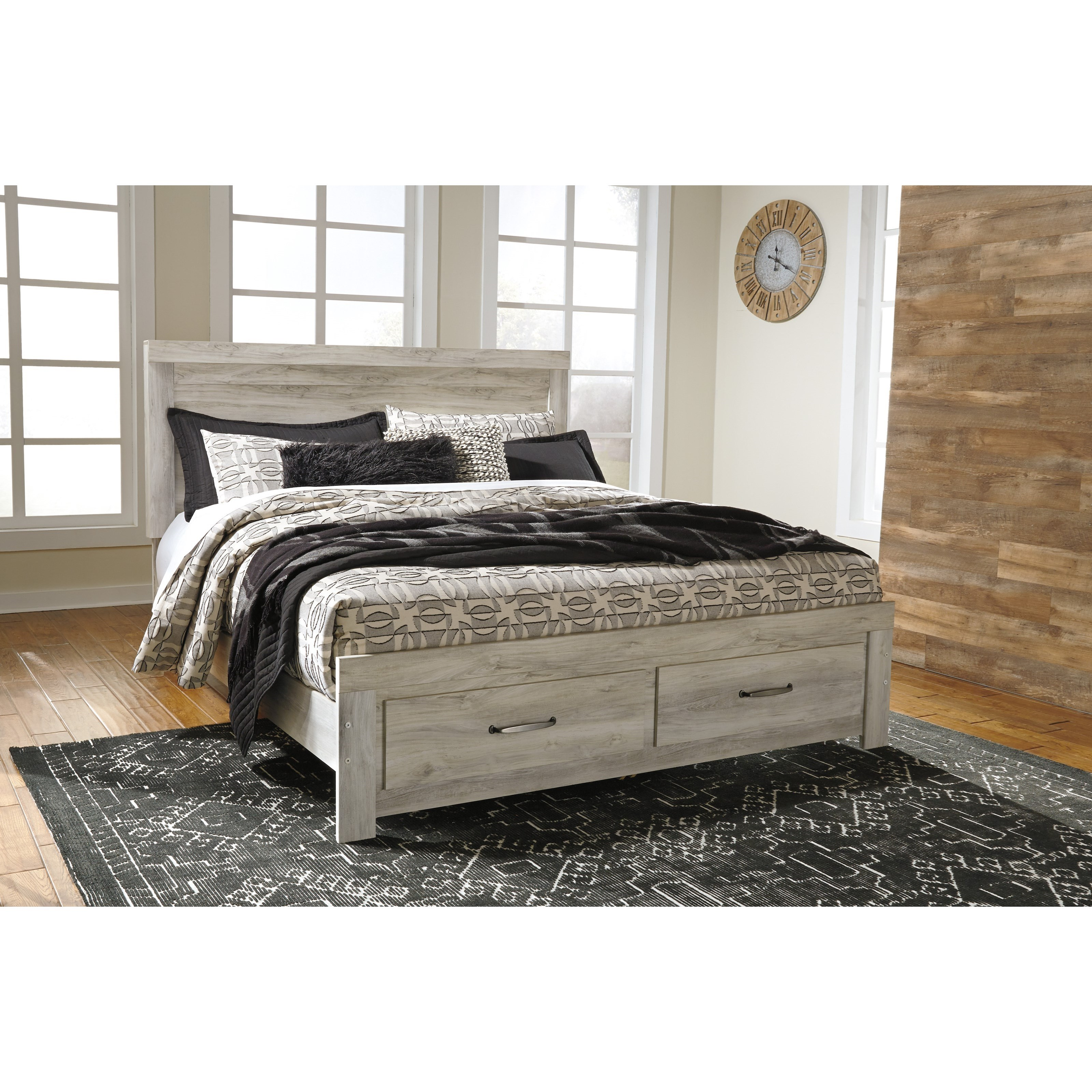 Signature Design By Ashley Bellaby King Panel Bed With