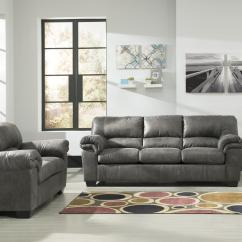 Sofa Southern Motion Ashley Sleeper With Chaise Signature Design Bladen 1200138 Casual Faux Leather ...