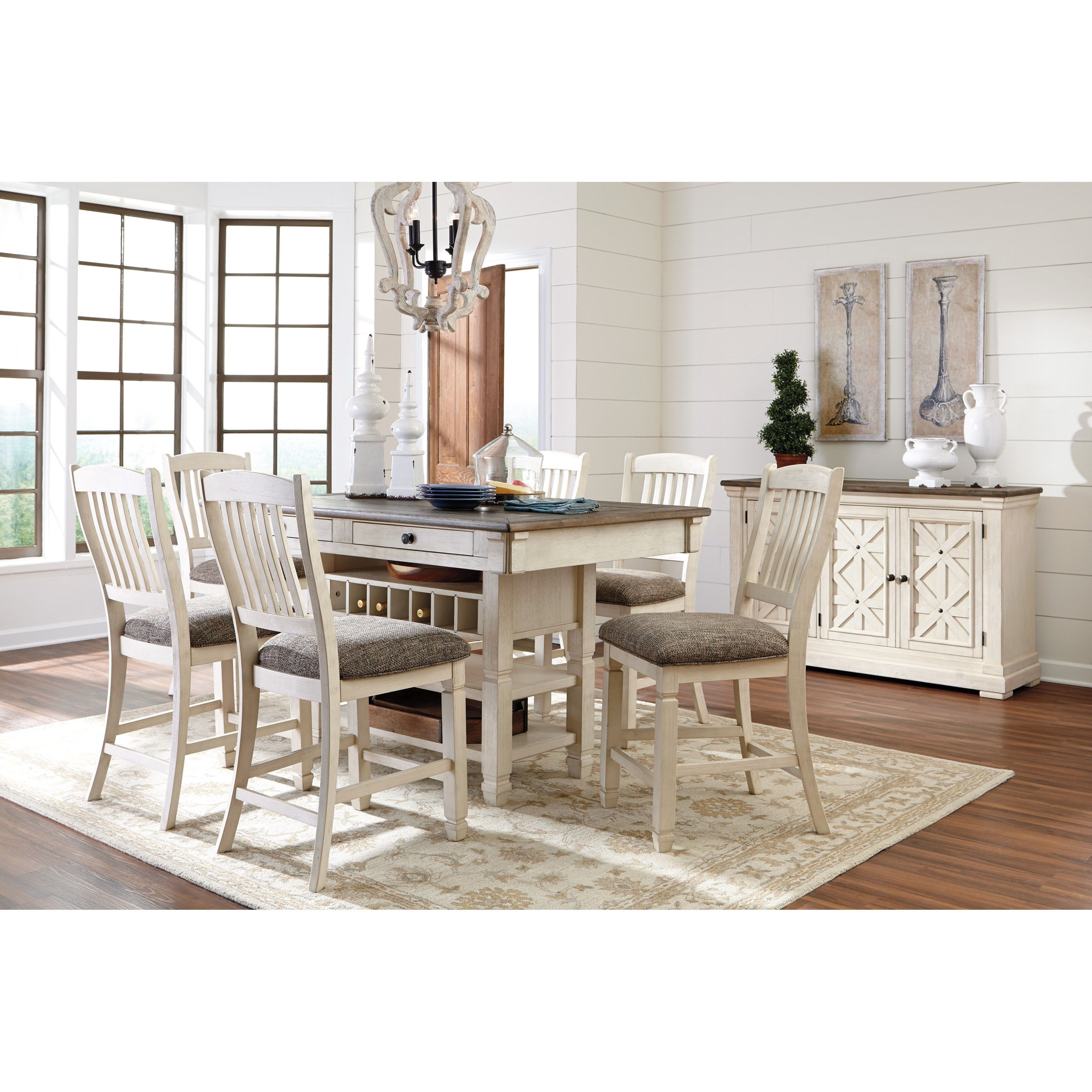 Signature Design by Ashley Bolanburg Casual Dining Room
