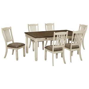 table chair set white wooden folding chairs for weddings 2 and sets belfort furniture 7 piece