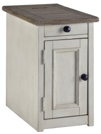 Signature Design by Ashley Bolanburg Chair Side End Table ...