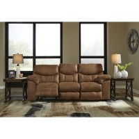 Signature Design by Ashley Boxberg Casual Reclining Sofa ...