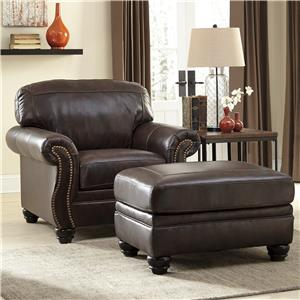 chair with ottoman ergonmic office and godby home furnishings
