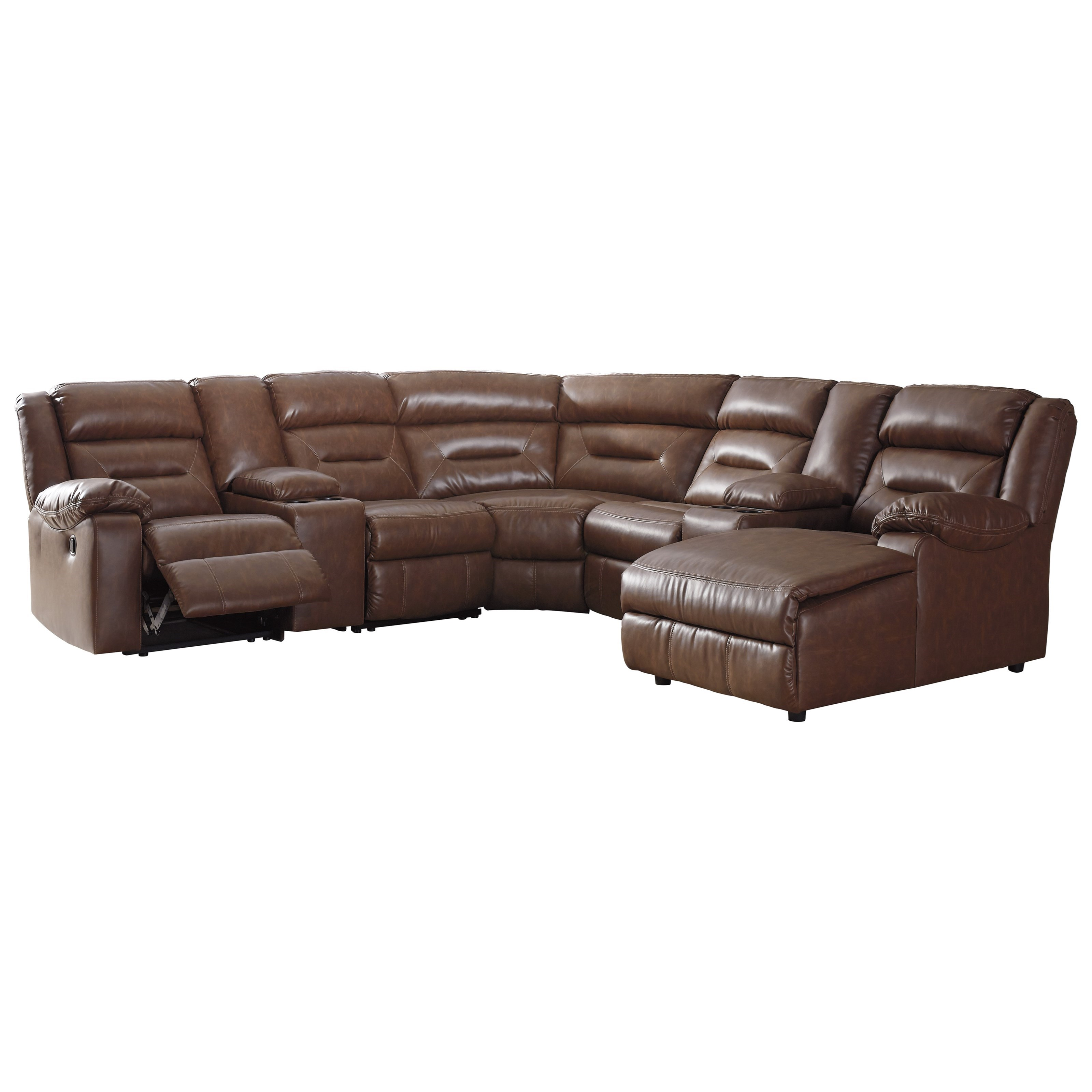 Signature Design by Ashley Coahoma 7Piece Sectional with