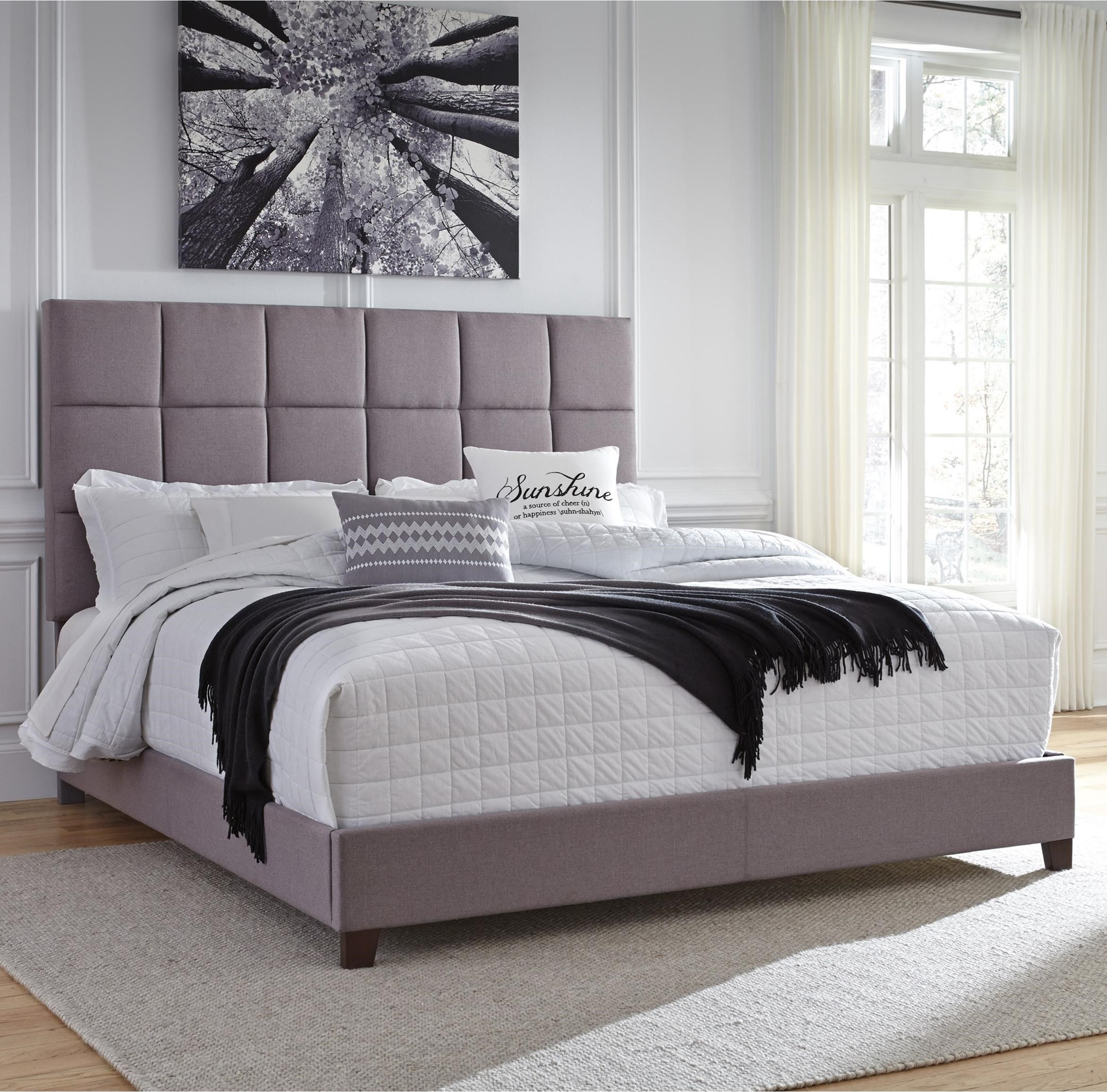 Signature Design By Ashley Dolante King Upholstered Bed In