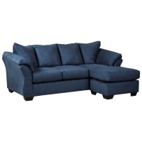 Ashley (Signature Design) Darcy - Blue Contemporary Sofa ...