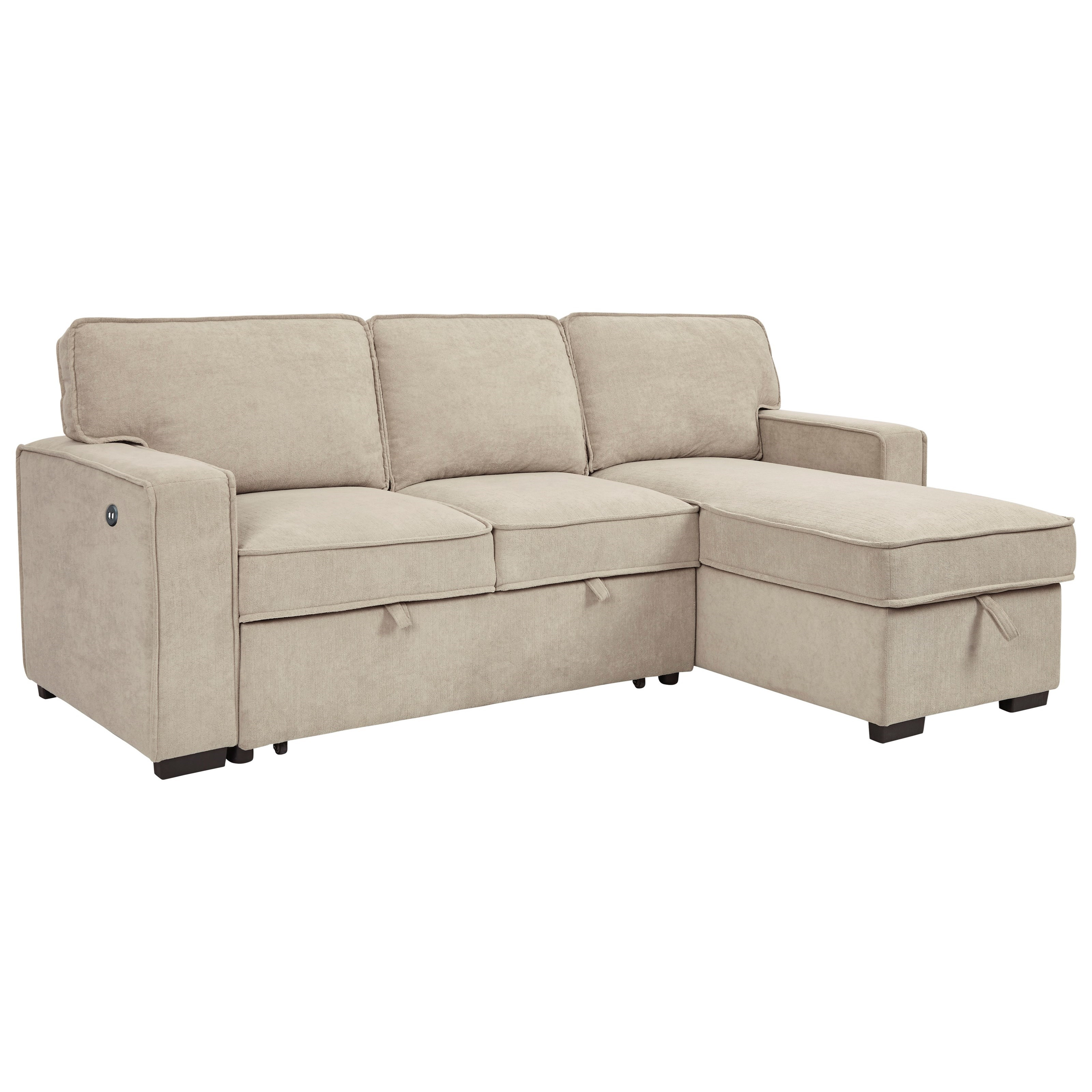 darton sofa chaise with pop up bed storage chaise
