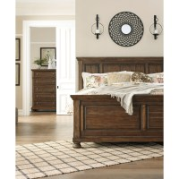 Signature Design by Ashley Flynnter King Panel Bed in ...