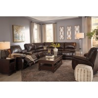 Signature Design by Ashley Hallettsville Reclining Living ...