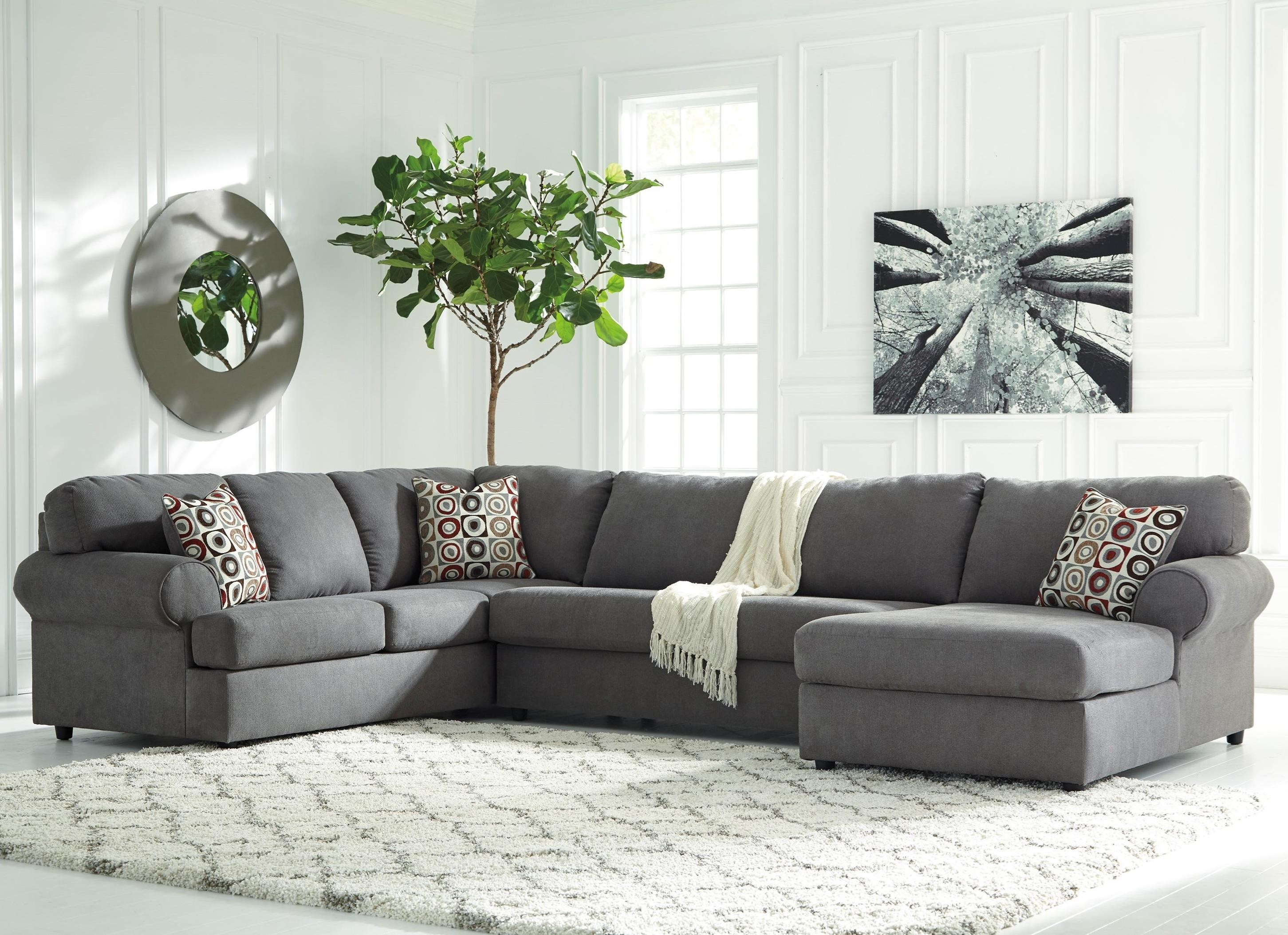 sofa w chaise small contemporary sofas uk jayceon 3 piece sectional with right rotmans
