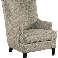 Accent Wingback Chairs King And Queen Chair Rental Ashley Signature Design Kieran Transtional With Wing