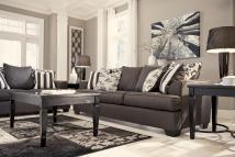 Ashley Signature Design Levon - Charcoal Sofa With