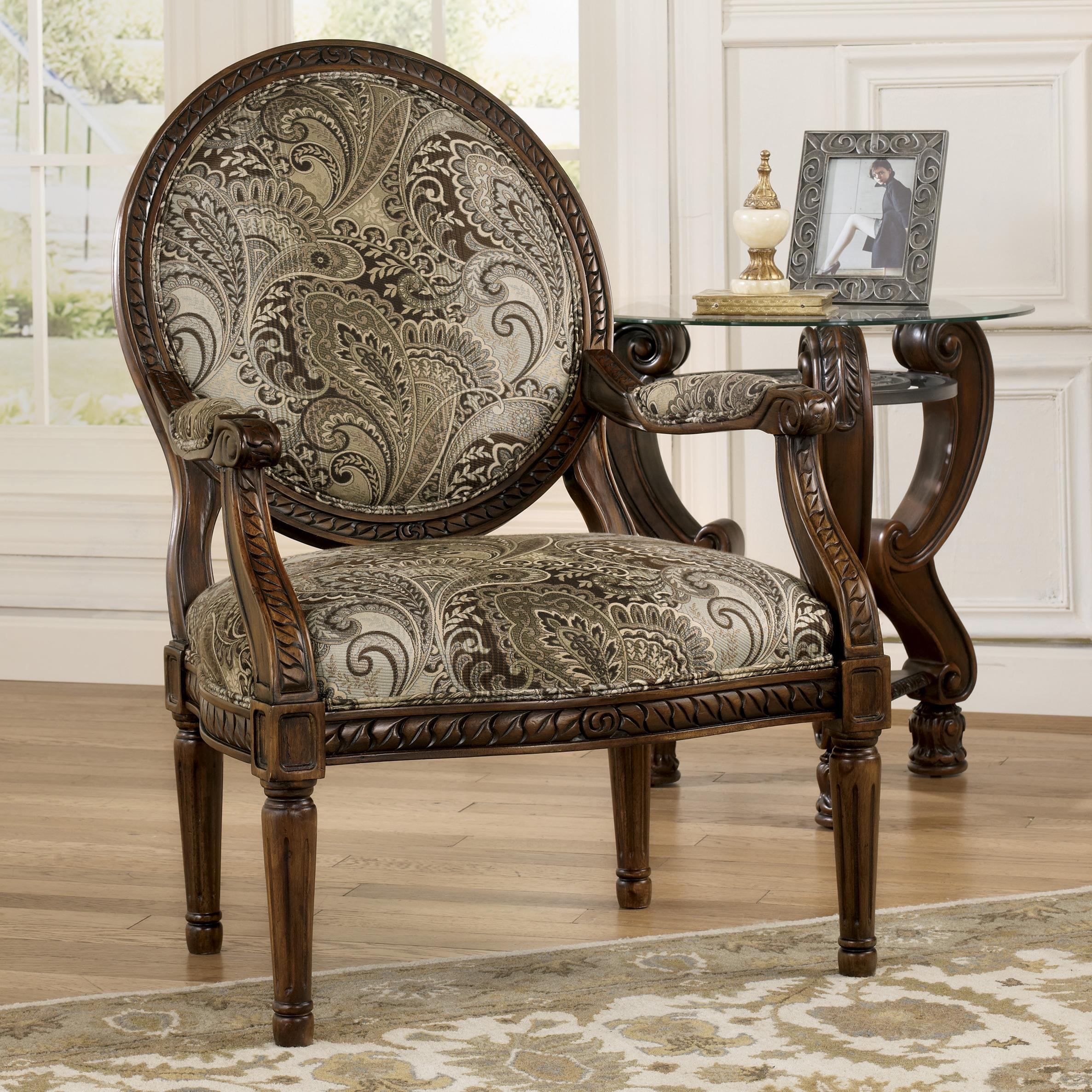 Ashley Chairs Signature Design By Ashley Martinsburg Traditional Showood