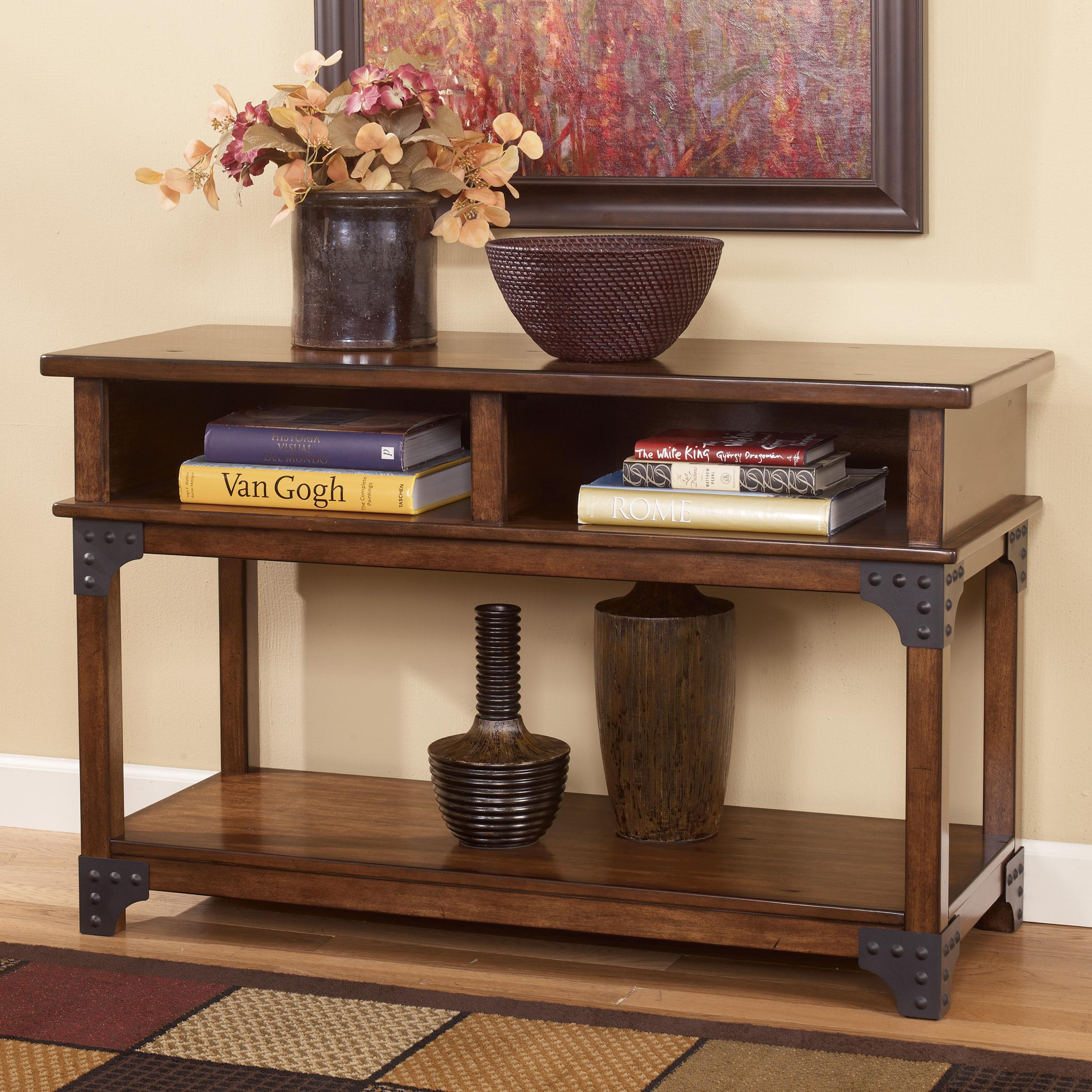 Ashley Signature Design Murphy T3524 Rustic Sofa Table