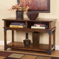Ashley Signature Design Murphy T352-4 Rustic Sofa Table ...