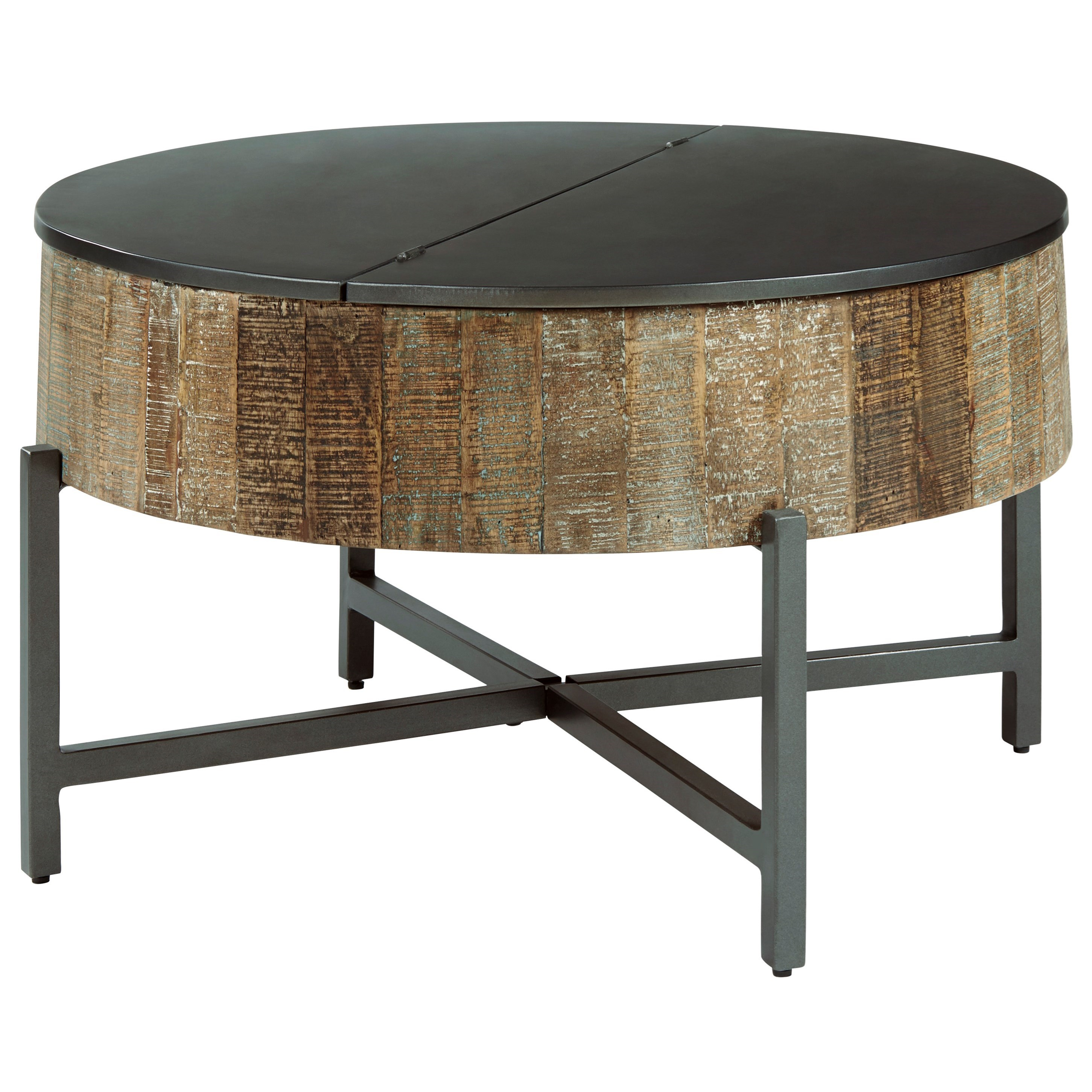 nashbryn round cocktail table