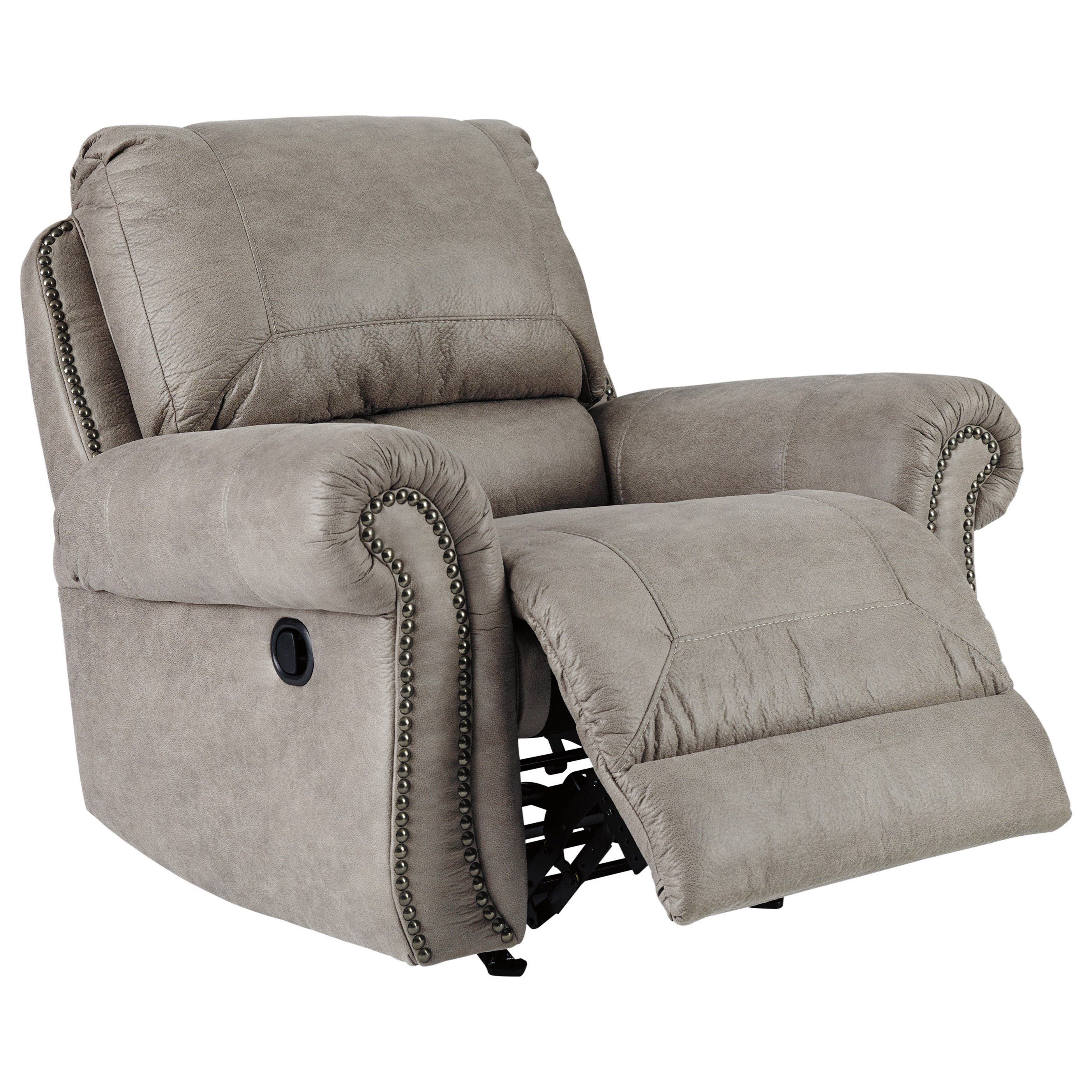Ashley Signature Design Olsberg Rocker Recliner With