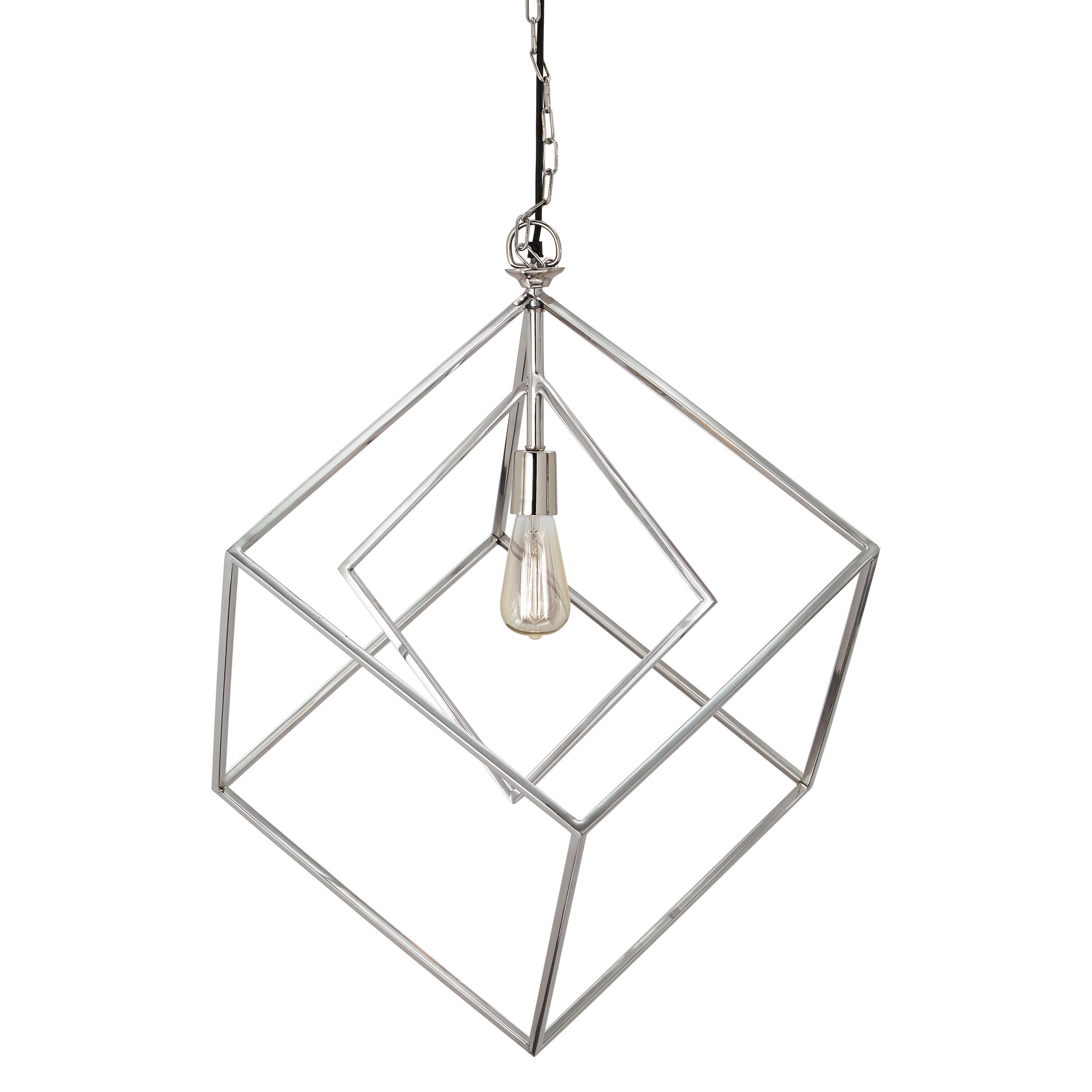 Signature Design By Ashley Pendant Lights Neysa Silver