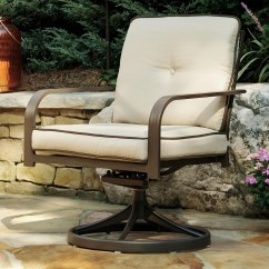 Swivel Lounge Chairs Cheap Chair Covers Ireland Demi Set Of 2 Rotmans Outdoor Upholstered