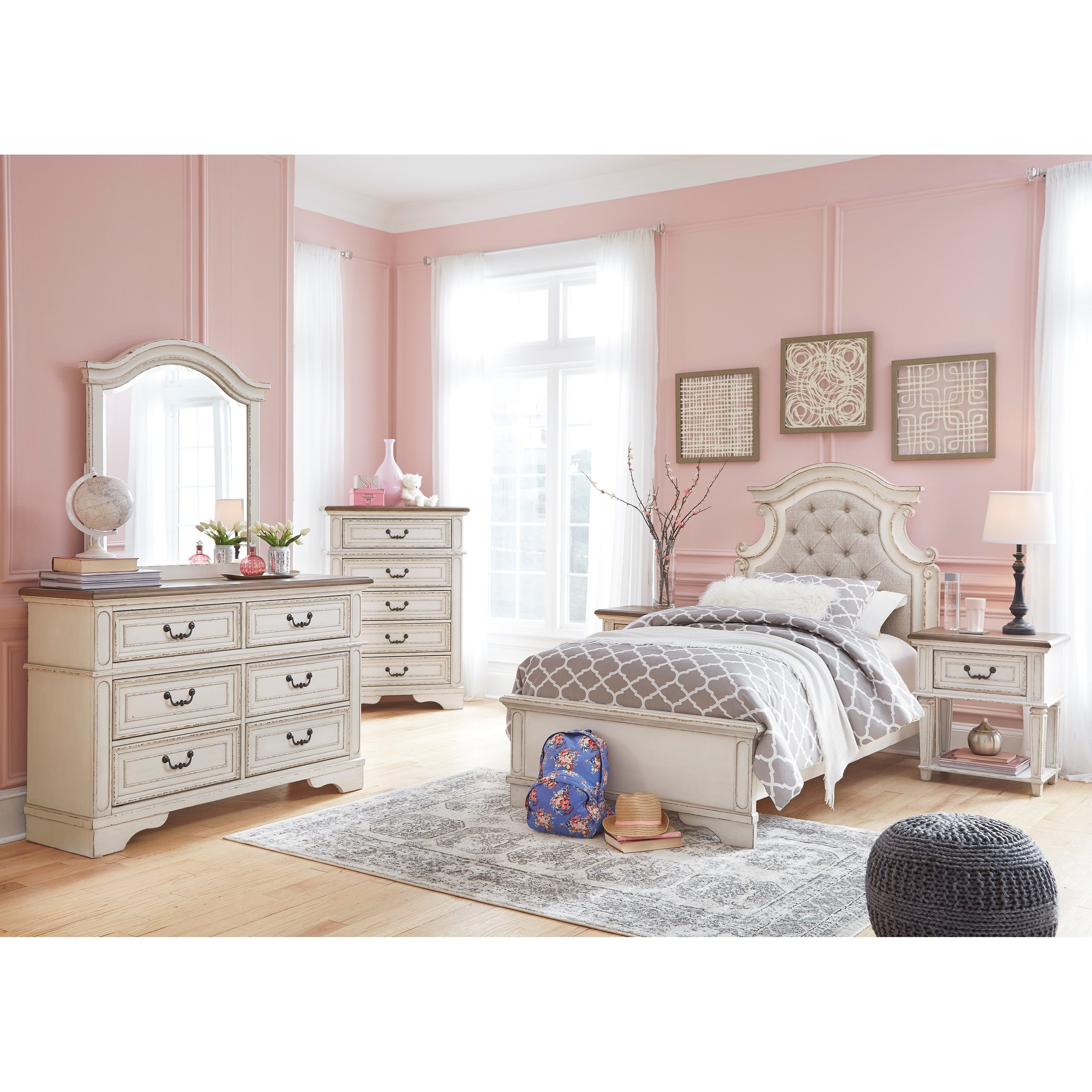 Signature Design By Ashley Realyn Twin Bedroom Group Houston S Yuma Furniture Bedroom Groups