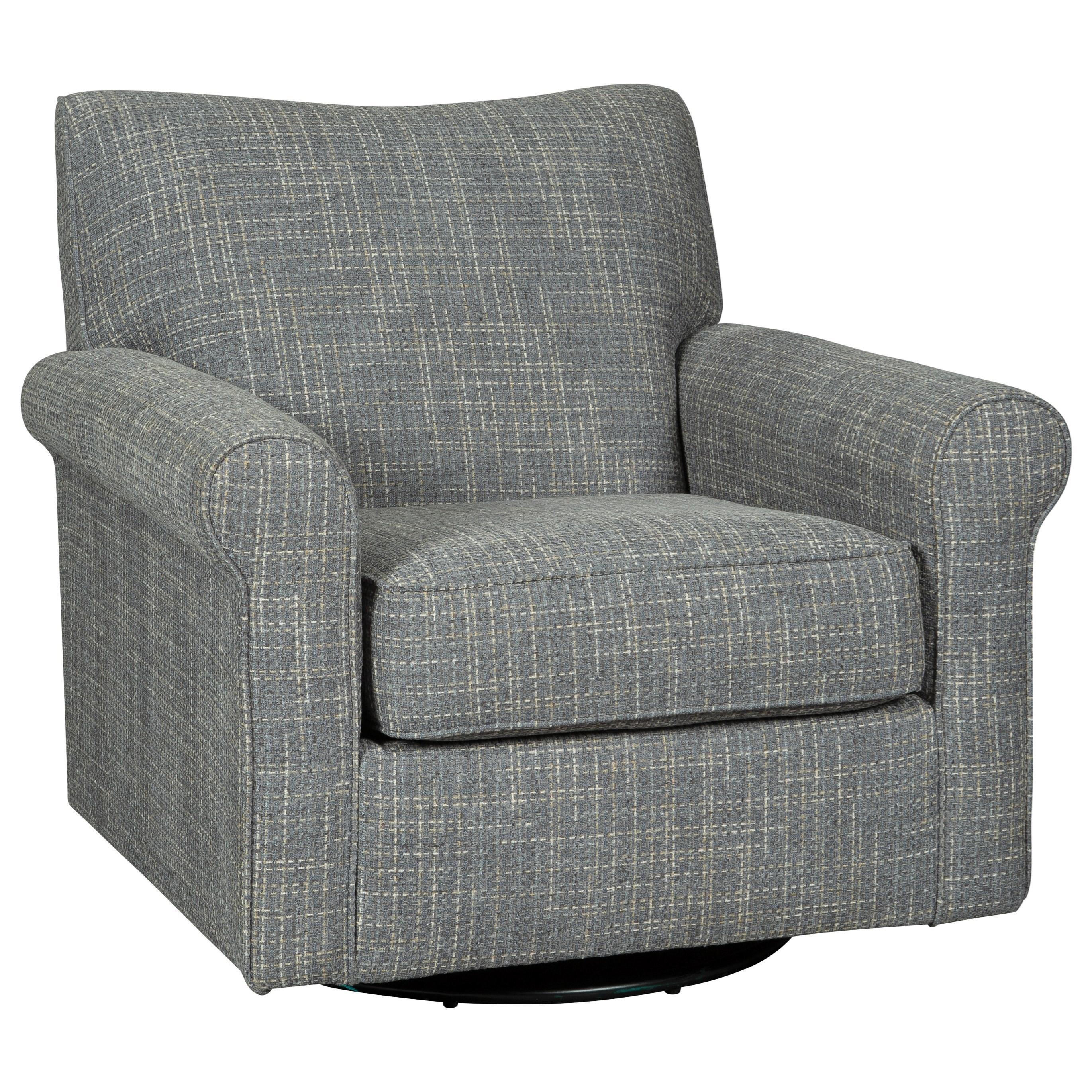 Ashley Signature Design Renley Swivel Glider Accent Chair