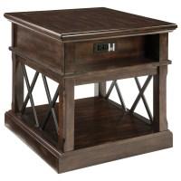 Signature Design by Ashley Roddinton Rectangular End Table ...
