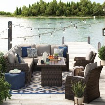 Signature Design Ashley Salceda Outdoor Sectional With
