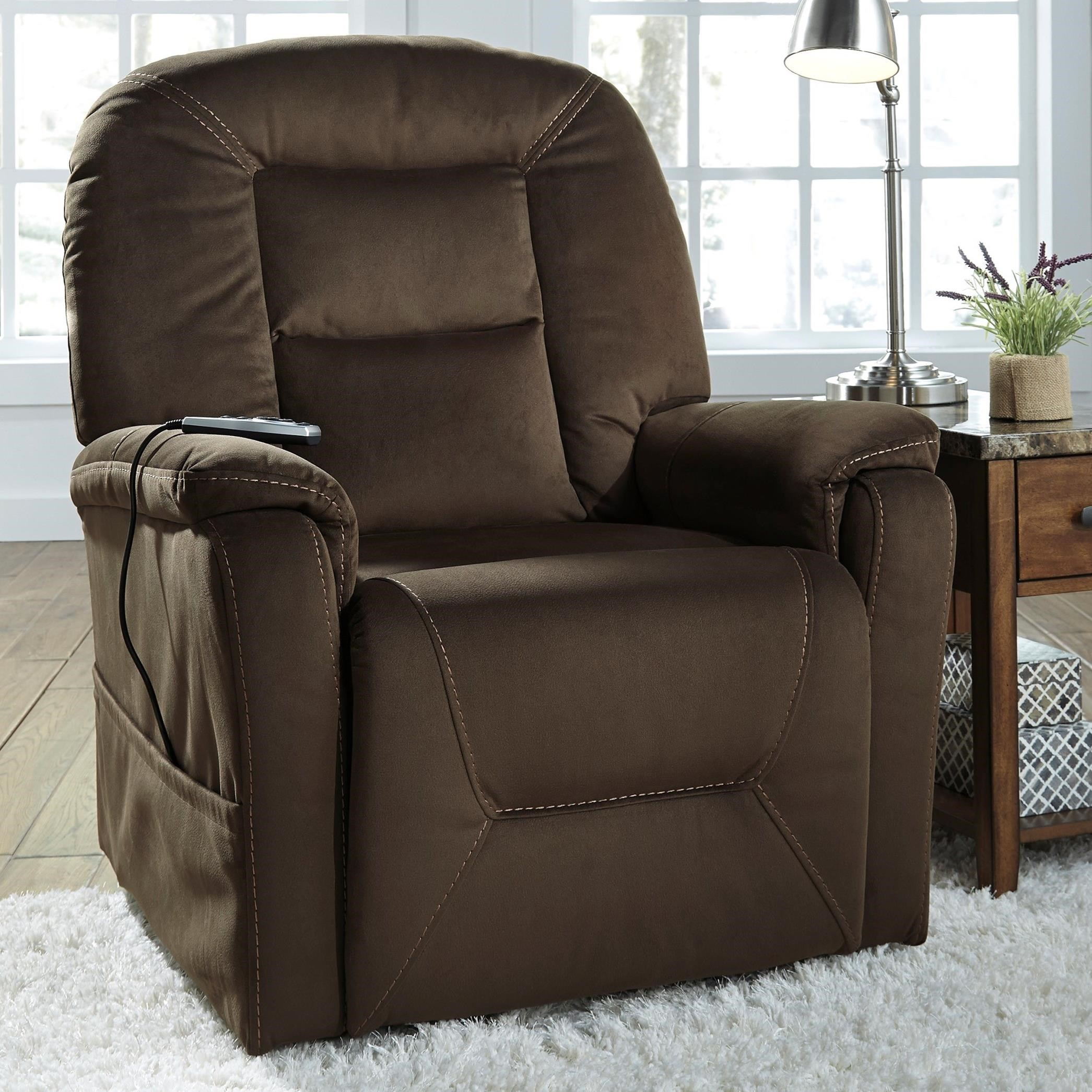 swivel chair office warehouse rattan bistro chairs signature design by ashley samir power lift recliner with massage and heat | wayside furniture ...