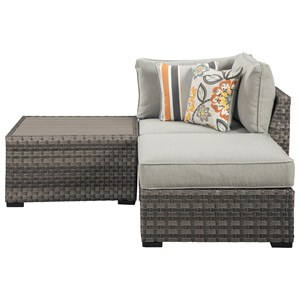 outdoor chair and ottoman knoll life godby home furnishings
