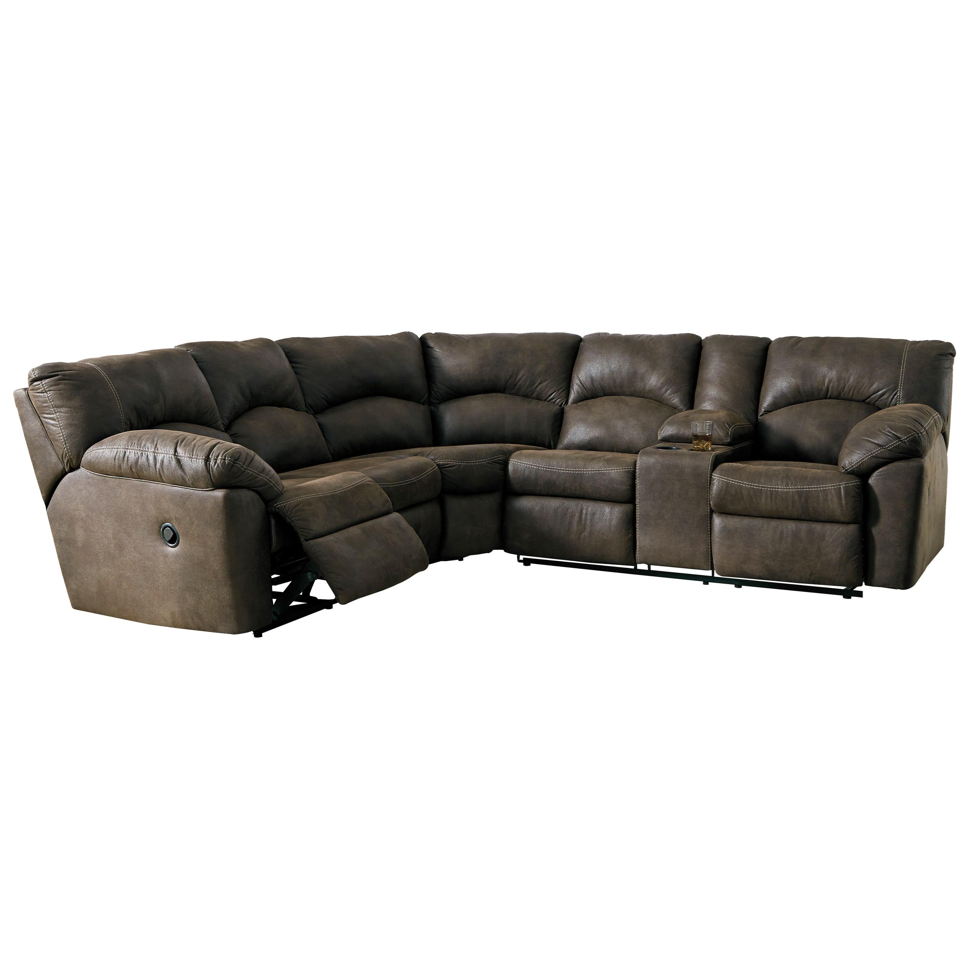 tambo tambo reclining sectional sofa