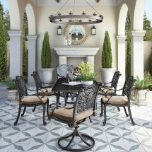Signature Design Ashley Tanglevale 7 Piece Outdoor