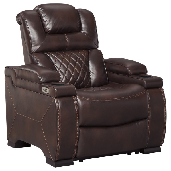 Signature Design Ashley Warnerton Power Recliner With