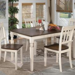 Ashley Dining Room Chairs Beach Chair Rental Delivery Estimates Northeast Factory Direct Cleveland Eastlake 5 Piece Rectangular Table Set